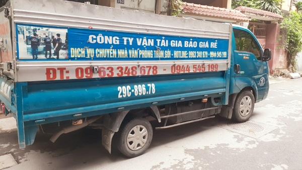 taxi tải giá rẻ Gia Bảo