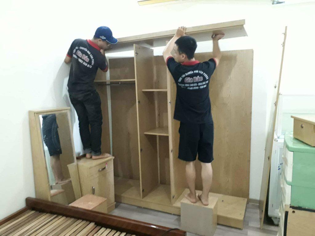 Gia Bảo nhận chở hàng thuê cho cửa hàng nội thất ở Hà Nội